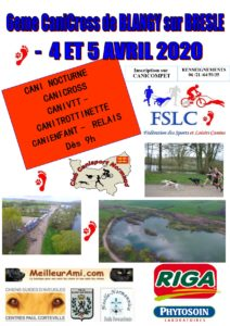 Affiche Canicross Blangy-sur-Bresle